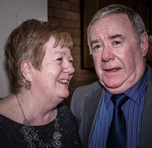 In colour, Peter & Georgie Grimshaw's 50th Wedding Anniversary