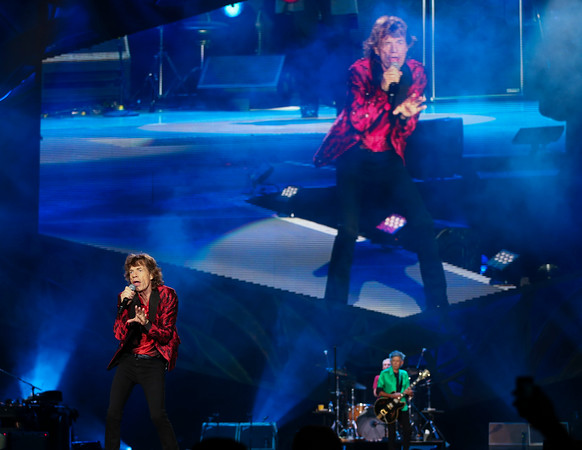 Rolling Stones at TCF Bank Stadium 6-3-15