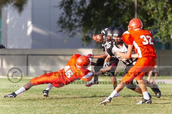 Boone Freshman Football #32 - 2012