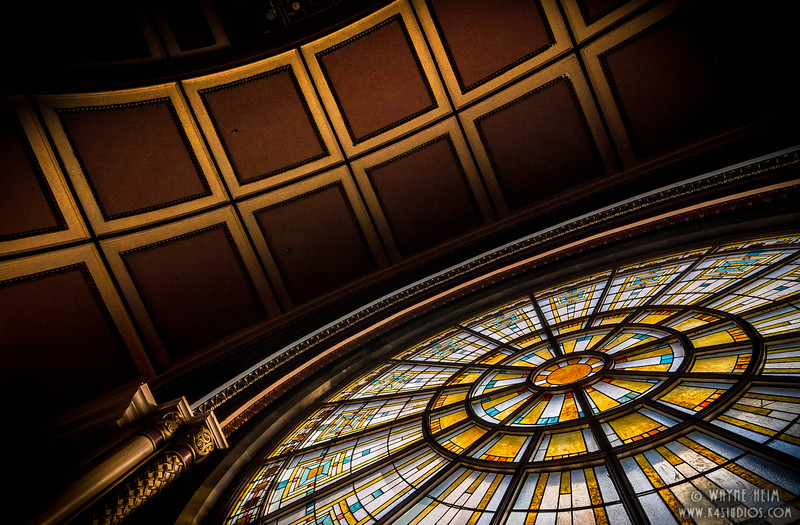 Stain Glass Window - Photography by Wayne Heim