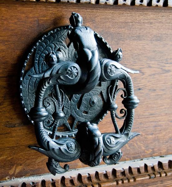 Royal knocker at Prague Castle