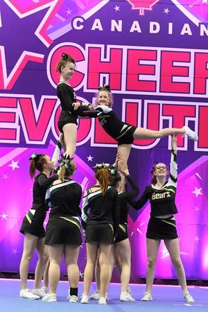 Cheer On! Bears  Kermode Bears - IASF Junior 1