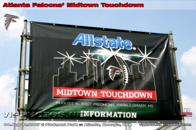 Atlanta Falcons' Midtown Touchdown @ Piedmont Park :: ATL, GA [Aug.04.2007]