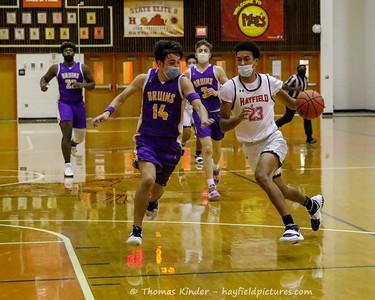 Boys Varsity Basketball v Lake Braddock 12/28/20