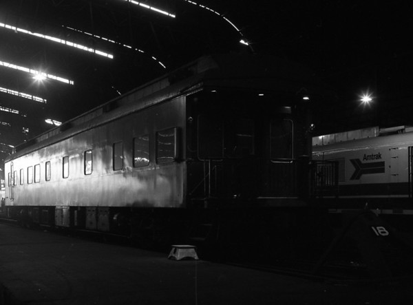 Penn-Central Office Car at St. Louis Union Station
