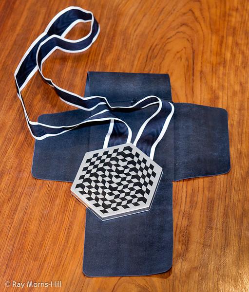 The Winner's medal