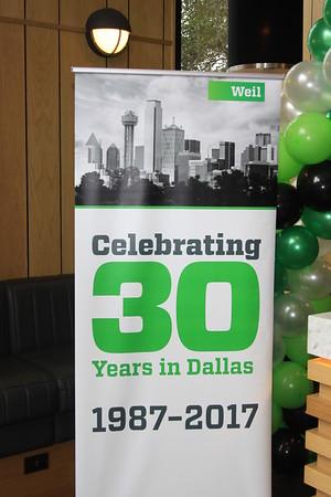 WEIL - 30th Anniversary in Dallas, 1-25-17