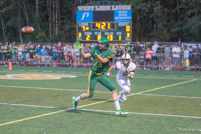 West Linn vs. Sherwood September 16, 2016