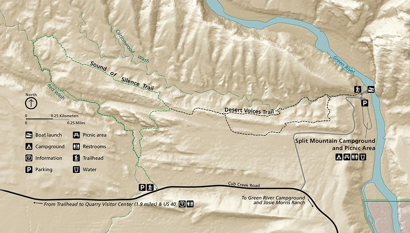 Dinosaur National Monument (Sound of Silence & Desert Voices Trails)
