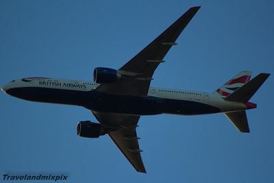 Boeing 777's of British Airways