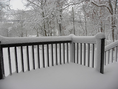 First blizzard of 2011