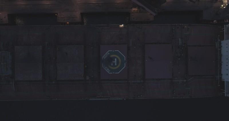 Bulk carrier aerial
