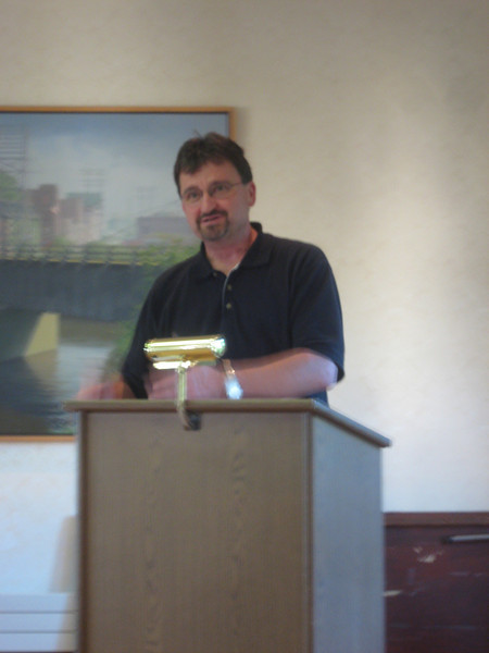 Timothy Black, author of When a Heart Turns Rock Solid, The Lives of Three Puerto Rican Brothers On and Off the Streets, spoke at the Friends Annual Meeting, May 20, 2010