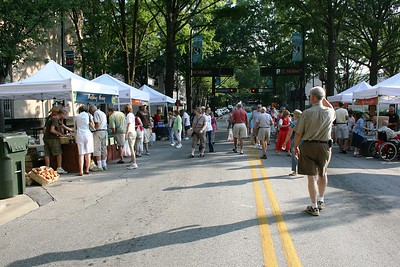 Saturday Market in downtown Greenville