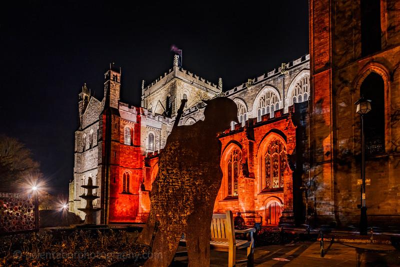 Ripon Cathedral illuminated soldier.jpg