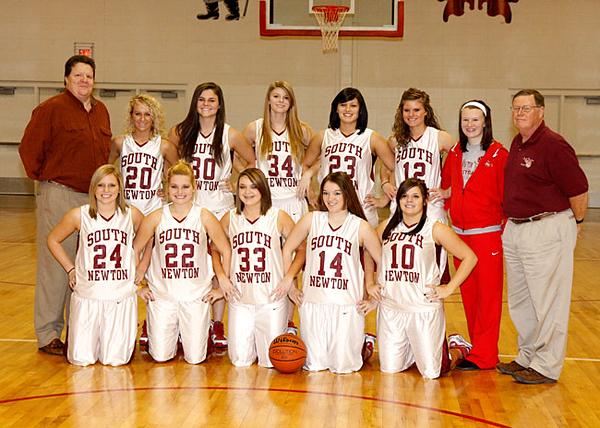 SNHS Girls Basketball 2009-2010