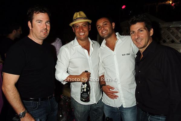 David Sarner, Shawn Kolodny, Fabian Gay, Robert Montwaid photo by Rob Rich © 2008 516-676-3939 robwayne1@aol.com