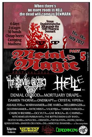 THE DEVIL´S BLOOD - Metal Magic 5 - Fredericia, Denmark 14/7 2012