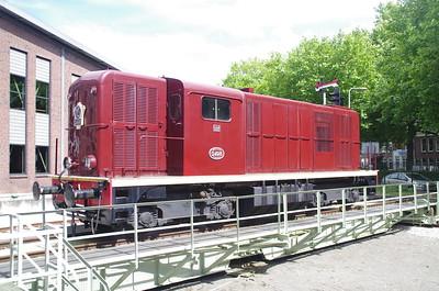 31 juli 2016 spoorwegmuseum 1200 turqoise en kameel