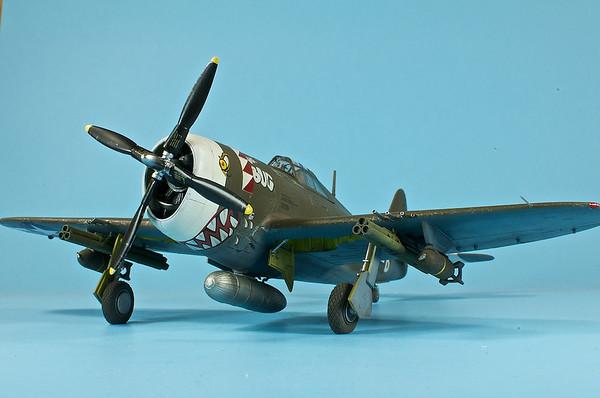 """1/48 Revell P-47D-20 Thunderbolt - """"The Bug"""""""