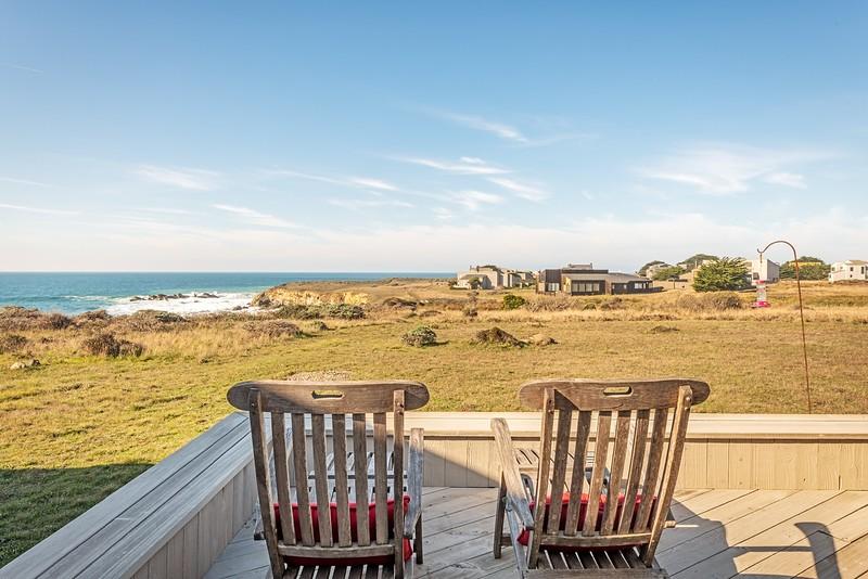 Back Deck with Ocean Views