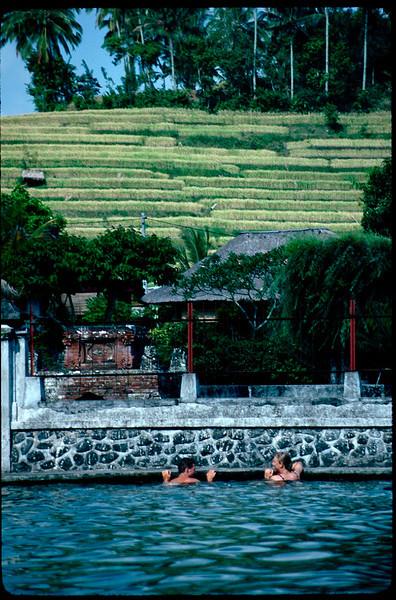 Tirtagangga baths
