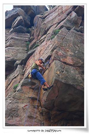 20100320 龍洞攀岩