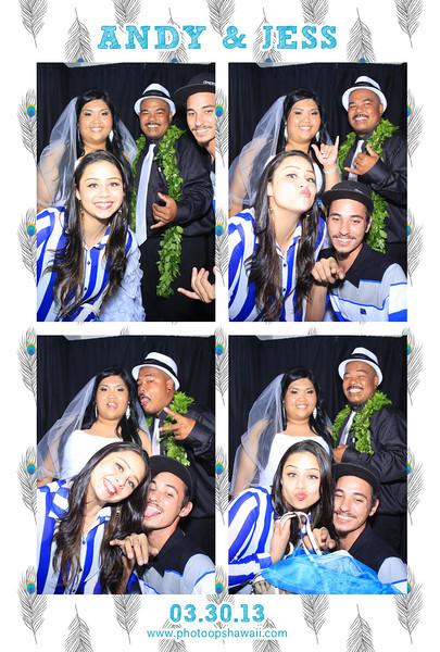 (Luxe Photo Booth) Andy + Jess
