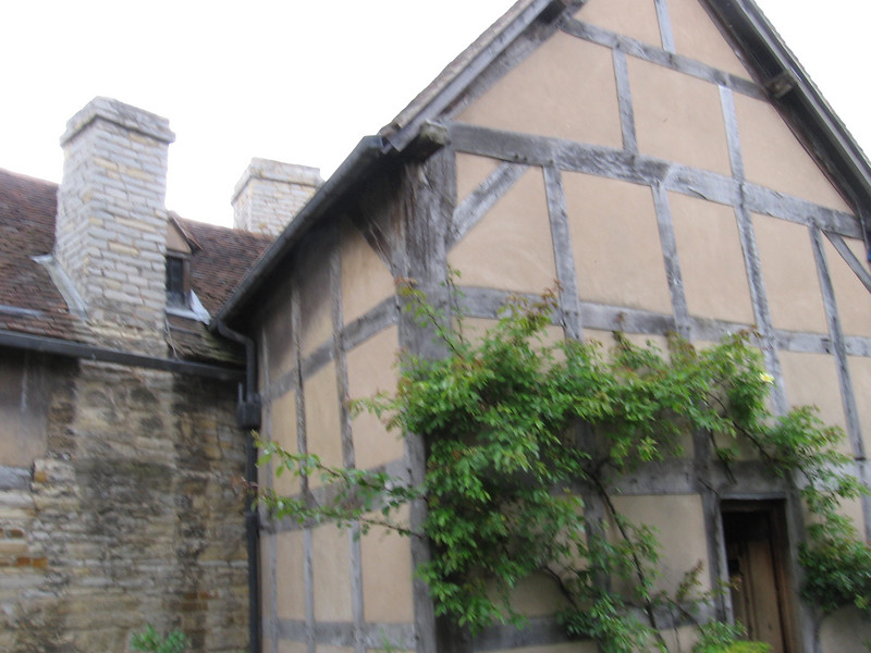 The back of Shakespeare's Birthplace