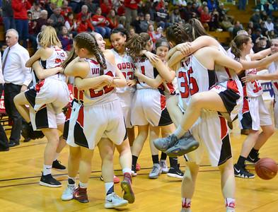 Hoosac Valley High School Girls Basketball beats Greenfield - 030919