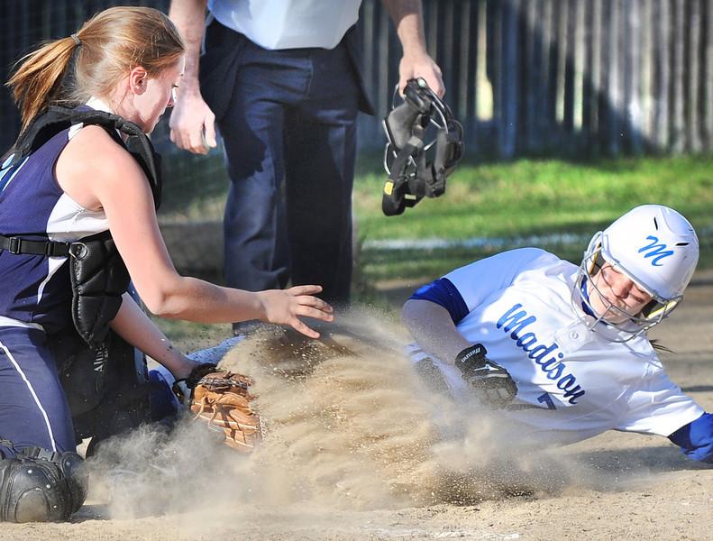 Madison at Dirigo softball