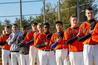 JV Baseball Wakefield 3/24/14