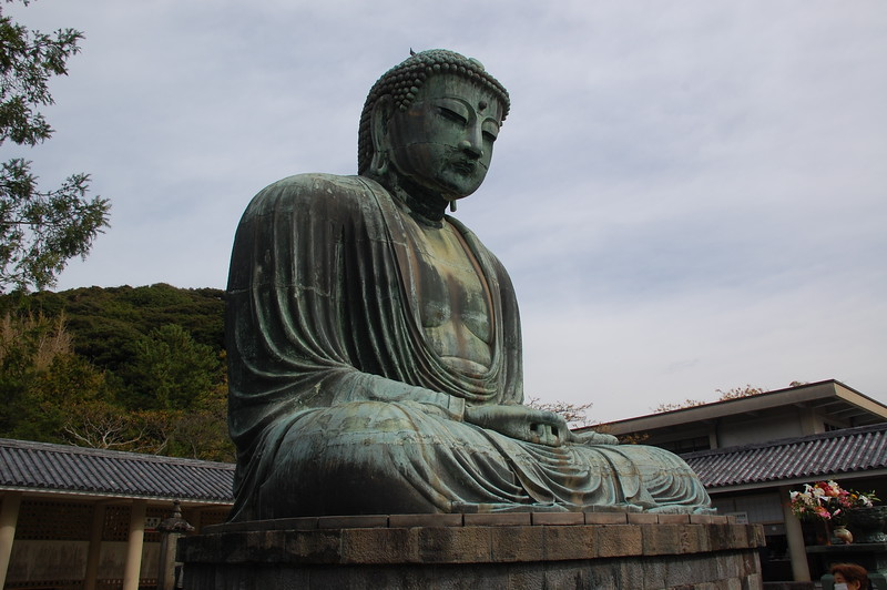 The Great Buddha was made in 1252