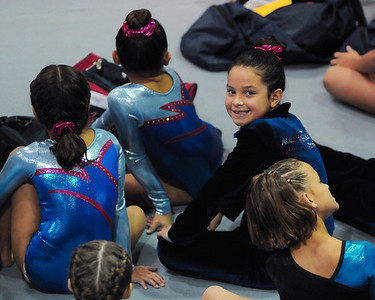 Bethany's Gymnastic Competition