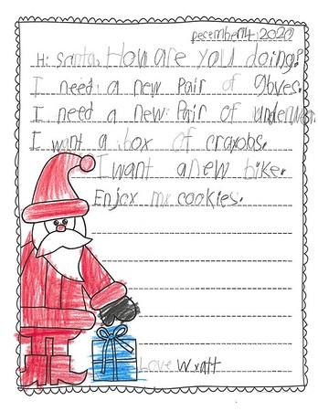 Mrs. Hamilton's Second Grade Letters to Santa