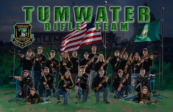 2020 Tumwater Rifle Team