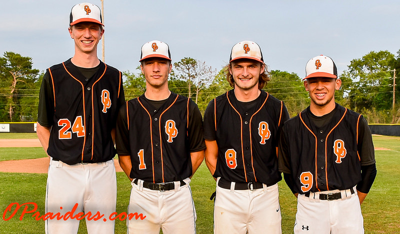 Baseball Senior Night & Game 2017