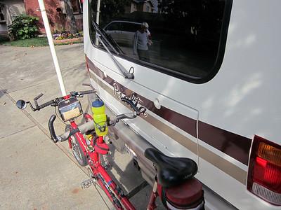 Rialta's Tandem Bicycle Rack