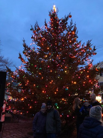Rockport Tree Lighting 2017