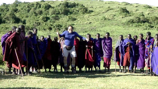 Dancing with the Masai