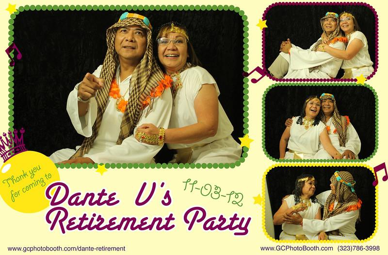 Dante's Retirement Party