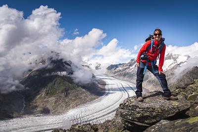 Hiking Aletsch 2021 Evi