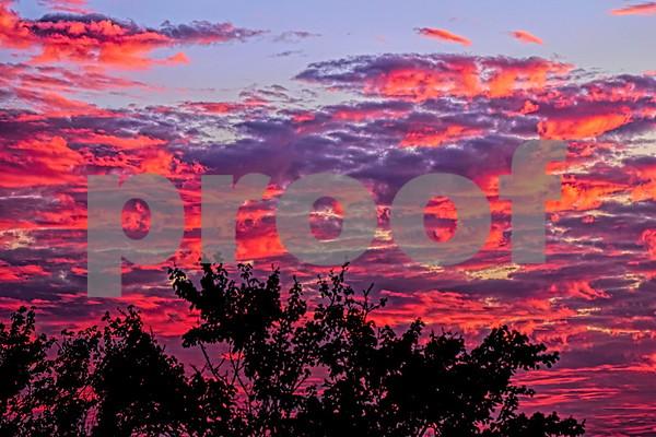 Jordan Lake Sunsets October 2020