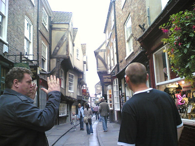 York with Steve and Lou