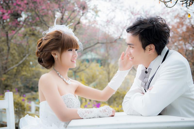 0125 真愛桃花源,自助婚紗