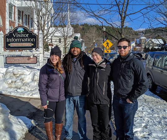 Stowe Skiing, February 2019