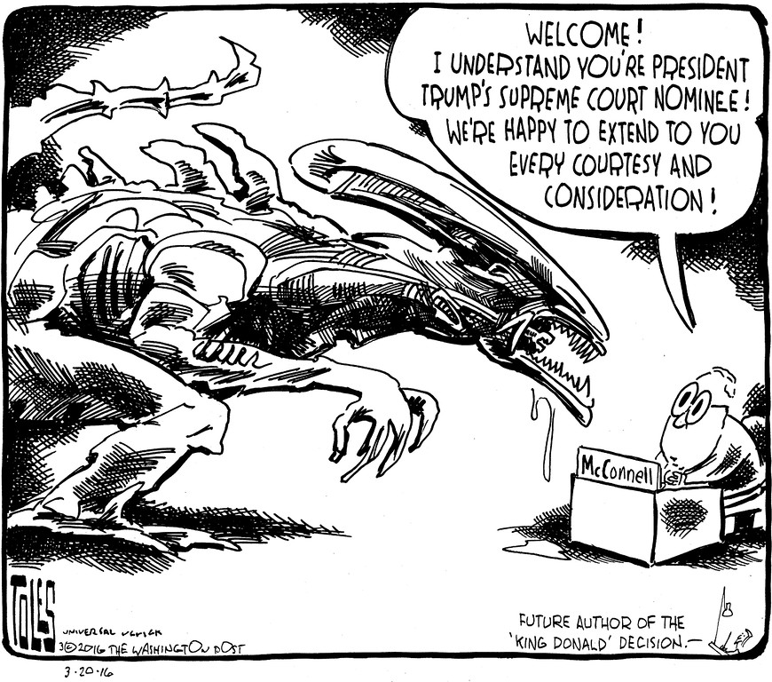 . Tom Toles / Washington Post