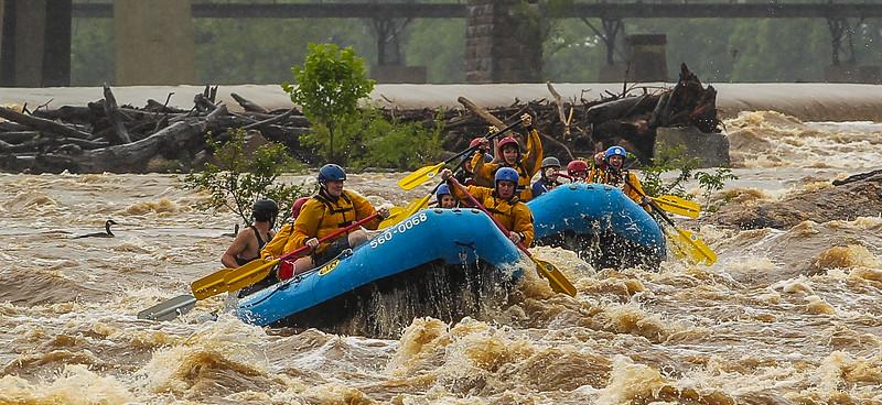 James River/Floodwall 6-8-2013