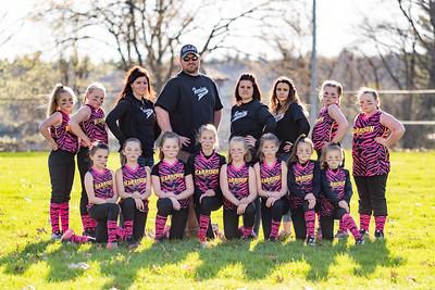 2019-05-08 Harrison Softball Team Photos
