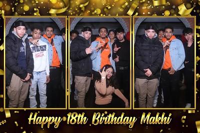 Makhi's 18th Birthday 2-15-2020